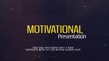 Motivational Presentation Premiere Pro Template