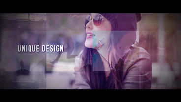 Mosaic Promo 프리미어 프로 템플릿