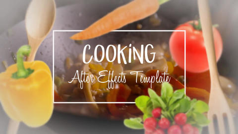 Cooking After Effects Template