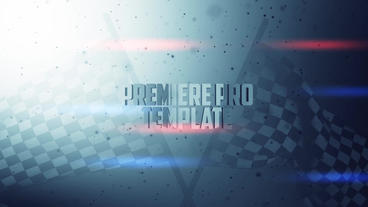 Race Zone - Title design Premiere Pro Template
