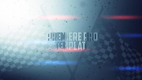 Race Zone - Title design Premiere Pro Template
