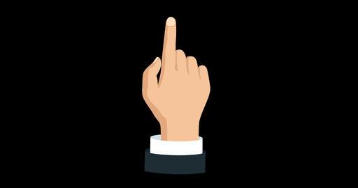 08 Finger Swipe Right GIF