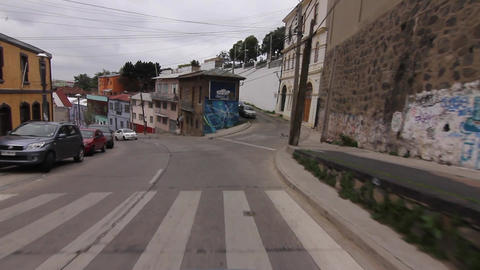 Downhill streets Footage