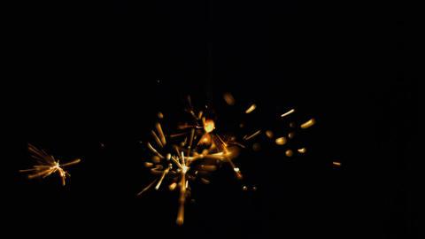 Sparkler japanese fireworks slow-motion Bild