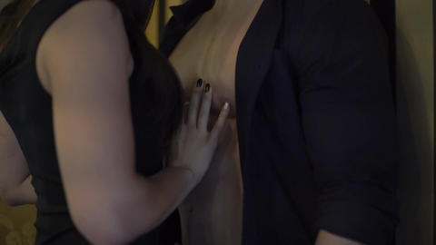 4K Woman's Hand And Torso Of Man Live Action