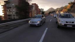 Cars on highway Footage
