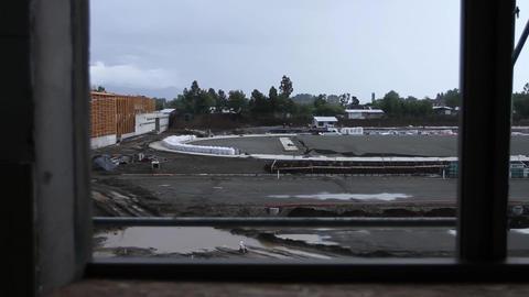 Construction building window Footage