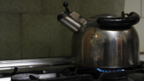 Tea kettle Footage