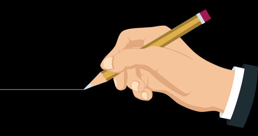 44 Holding Pencil Animation