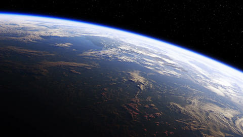 Amazing View Of Planet Earth From Space. Ultra High Definition. 4K. 3840x2160. S Animation
