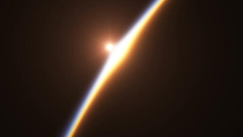 Beautiful And Realistic Sunrise Over The Earth. Ultra... Stock Video Footage