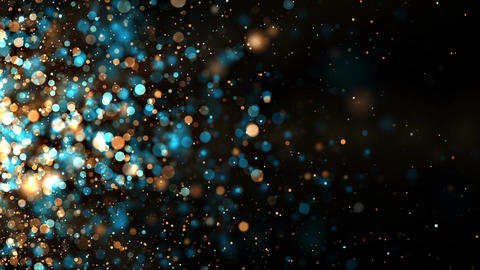 Brilliant Particles Background Loop CG動画