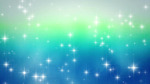 Glitter shining blue background material Animation