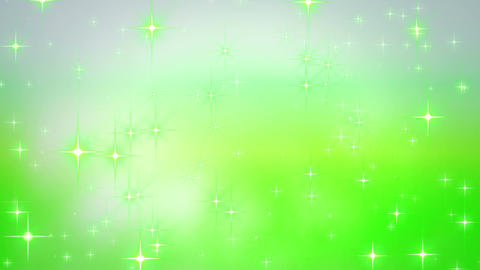 Glitter shining green background material CG動画