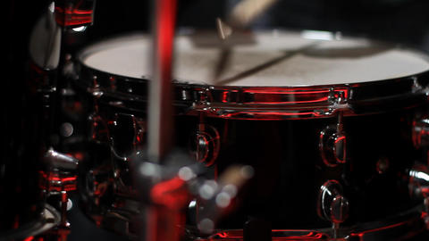 Drum detail Footage