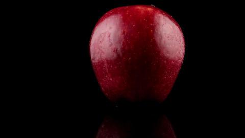 Fresh red apples 動画素材, ムービー映像素材