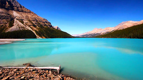 Peyto Lake Banff National Park Footage