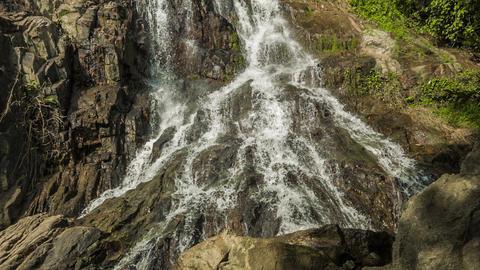 Waterfall background loop Footage