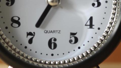 Table clock Footage