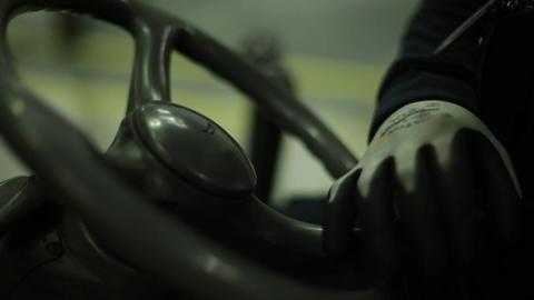 Steering forklift Live Action
