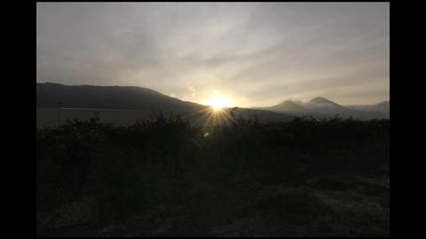 Hill sunrise Footage