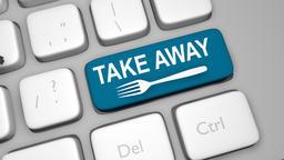 TAKE AWAY keyboard key animation Live Action
