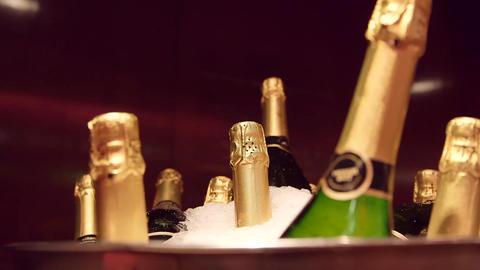 Champagne bottles Live Action