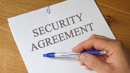 Review of Security Agreement Concept Footage