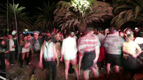 Outdoor concert dancing Footage