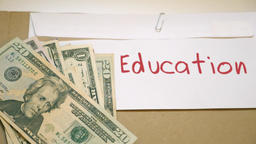 Education costs concept Footage