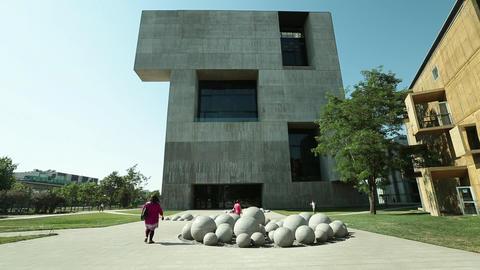 University building Footage