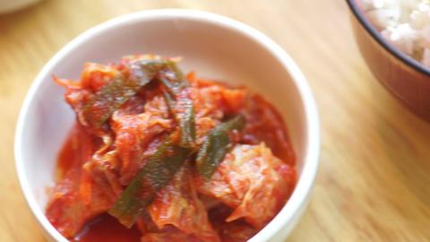 CU Pan Left: Kimchi Live Action