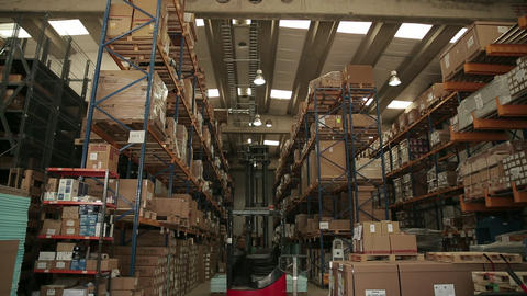 Storage warehouse Live Action