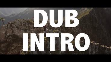 DUB INTRO 프리미어 프로 템플릿