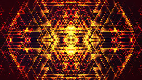 4K Abstract Triangles Backgrounds Stock Video Footage