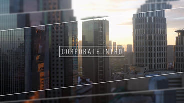 Corporate Intro - Promo After Effects Template