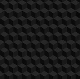 Seamless geometric 3d vector pattern Vector