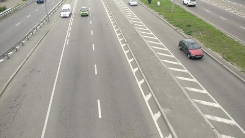 Car Traffic timelaps GIF