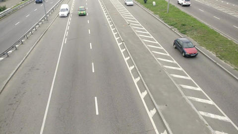 Car Traffic timelaps ビデオ