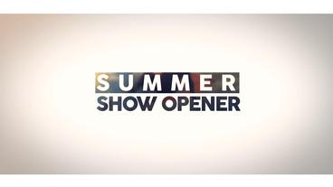 Summer Show Opener After Effects Templates