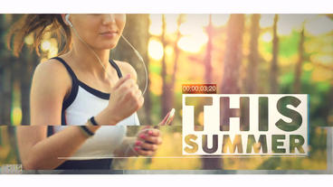 Summer Show Opener After Effects Template