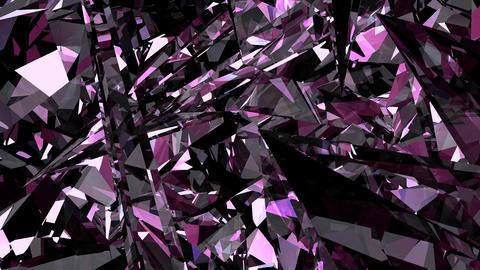 Crystal 005 Pink CG動画