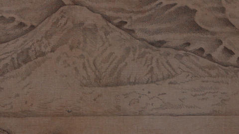 Mountain drawing Footage