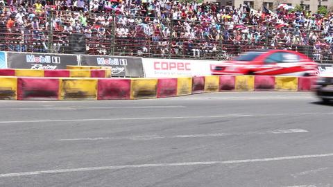 Race cars Footage