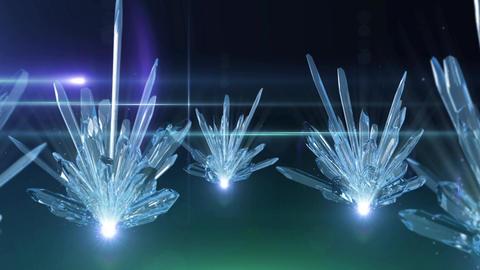 Crystal 006 Blue Animation