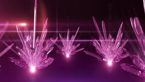 Crystal 006 Pink Animation