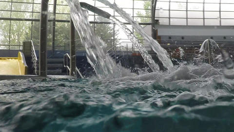 Water massage jets Footage
