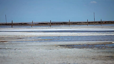 Salt Lake Baskunchak Footage