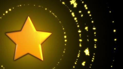 SHA Yellow Star BG Image Christmas Animation