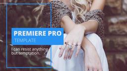 Modern Promo 프리미어 프로 템플릿